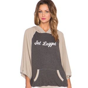 Jet Lagged hoffie size XS by wild fox couture